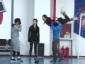 《跨界冰雪王片花》第六期 老师现场教双人托举舞姿 曹格左小青懵圈练习