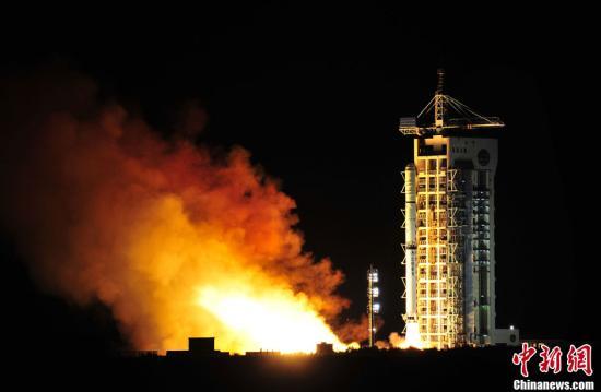 资料图 酒泉卫星发射中心。中新社发 梁杰 摄