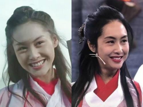 朱茵隔22年再扮紫霞仙子 红白仙服依旧没变