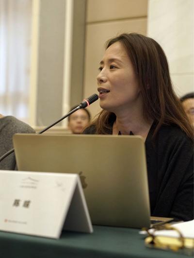 建筑师陈瑄做《中华人居文化的当代意义》主题报告