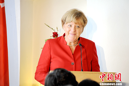 资料图:德国总理默克尔。中新社记者 彭大伟 摄