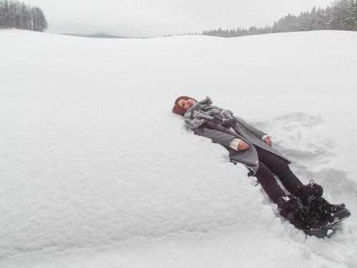 郭静《遇见新的我》MV首播零下四度躺雪初体验