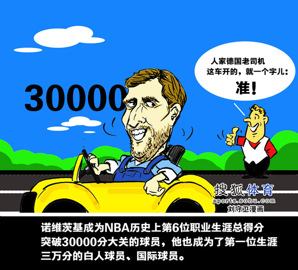 NBA comics: nowitzki 3 extremely Older drivers 1 approved by Germany