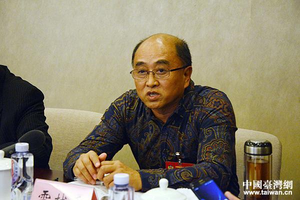 台籍全国政协委员、著名导演雷献禾