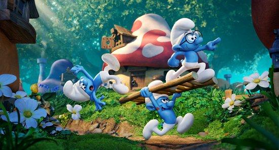 蓝精灵上天入地欢乐冒险