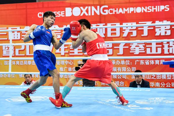 皇冠现金代理:吕斌伤愈复出领衔中国拳王初级选拔赛40人晋级