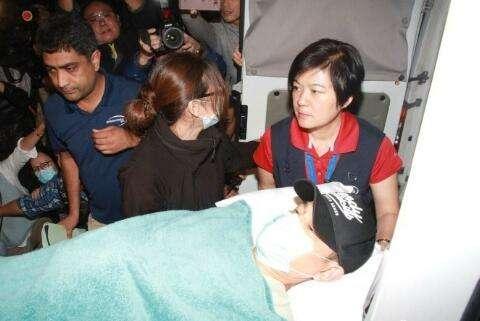 刘德华坠马受伤住院两个月