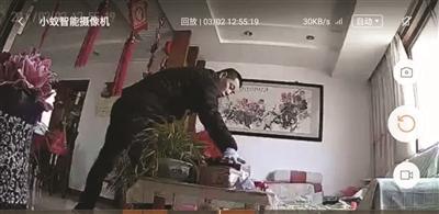 入室两小偷,你们被监控拍下了