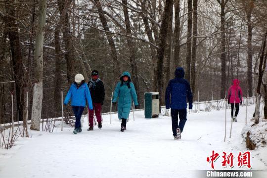 青海大部分地区迎大到暴雪发布暴雪蓝色预警信号