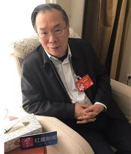 王国庆接受红星新闻记者专访