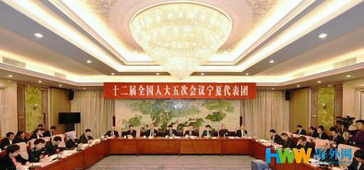 """2017两会 宁夏书记回应""""泛清真化"""":界定肉源或相关食品概念"""