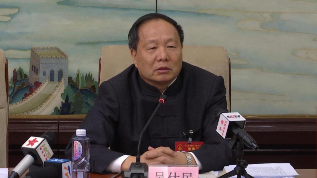 全国人大代表、原国家民委副主任吴仕民/来源:香港卫视