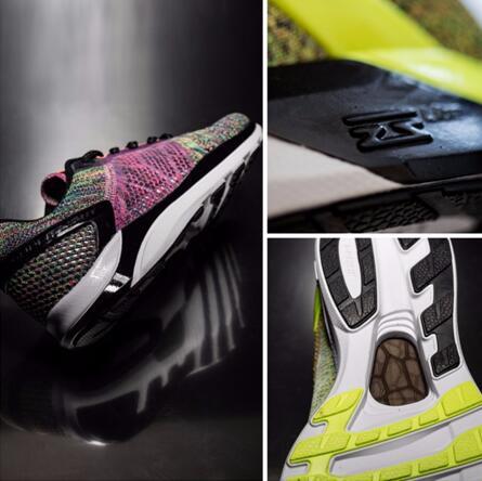 【鞋底首次使用减震回弹性能更好的云LITE材料】