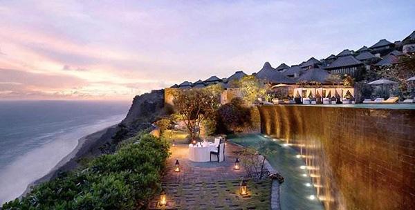 以奢华私密著名的巴厘岛宝格丽酒店