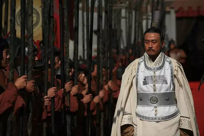 《裂变》中的商鞅,王志飞饰。