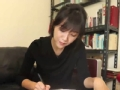 《鲁豫有约大咖一日行片花》徐静蕾现场写书法秀美字 爸爸曝为找工作学练字