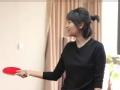 《鲁豫有约大咖一日行第二季片花》徐静蕾鲁豫PK乒乓球 徐爸爸穿西装帅气大秀球技