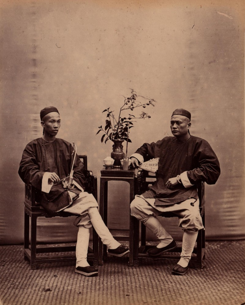 中国人150年表情肖像看到20世纪80年代觉得美呆了