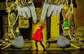机器人登戏剧舞台表演