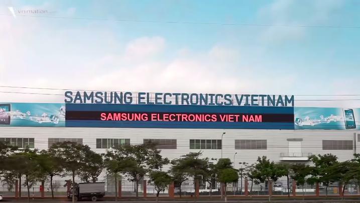 三星在越南的工厂
