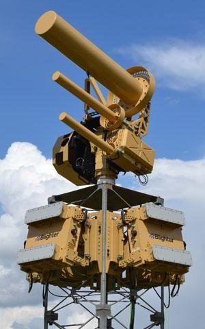 英国开发的大型的反无人机系统(AUDS)