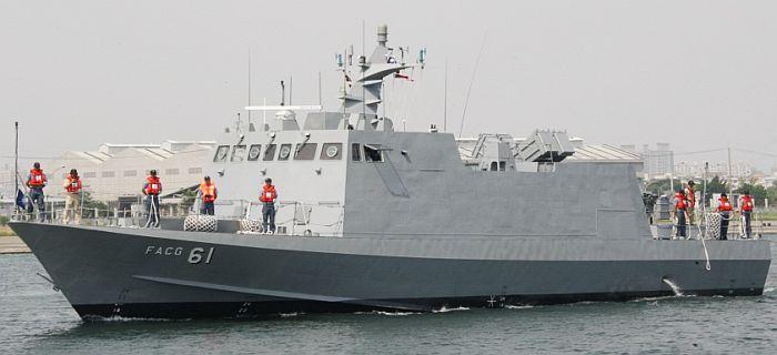 台湾海军光华六号导弹快艇(资料图)