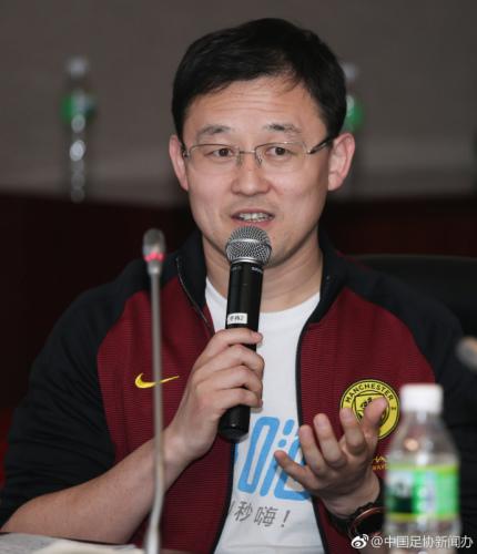 孙继海批评中国球员水平持续下降。中国足协供图