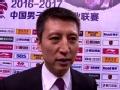 郭士强:满意球队赛季表现 球员拼劲值得尊重