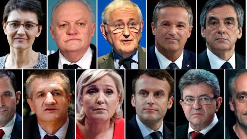 法国大选候选人名单正式出炉。路透社。