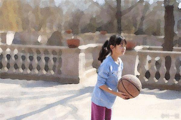 森碟打篮球