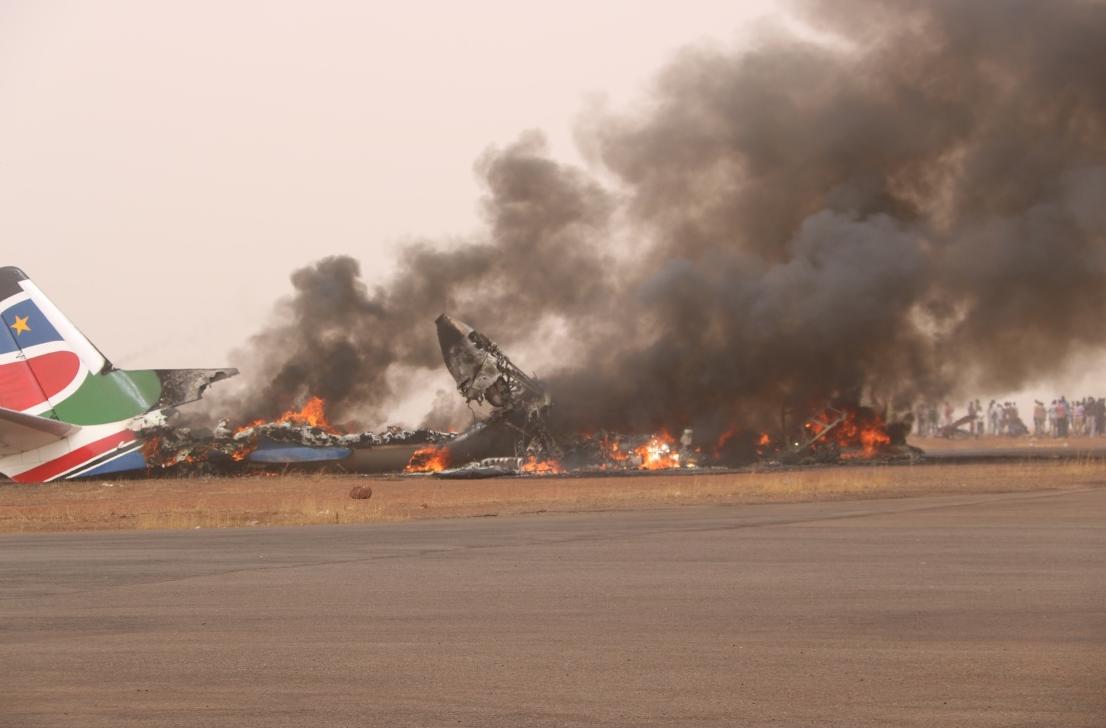南苏丹坠机机上人员全被送医 1名中国乘客脱险
