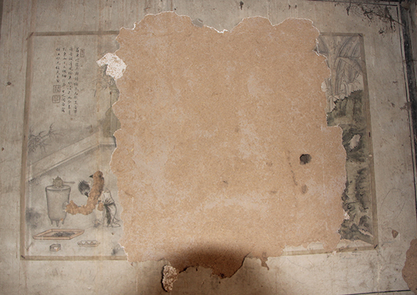 壁画劫|山西四百余古建壁画遭盗割,有村主任自己掏钱保护