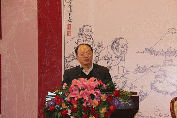 北京鲁迅博物馆常务副馆长黄乔生致辞