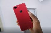 惊艳!红色iPhone 7开箱