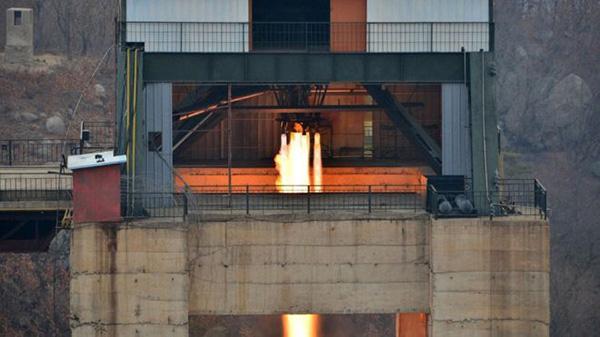 朝新型火箭发动机试验成功 重型洲际导弹或将面世