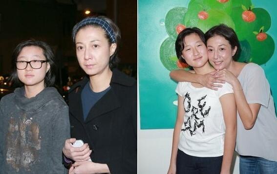 吴绮莉与女儿(资料图)