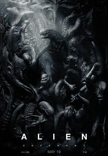 《异形:契约》新海报――太空即地狱