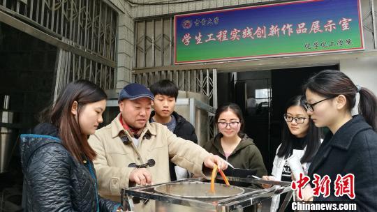 湖南高校专利第一人银永忠:6年授权专利200余项(图)