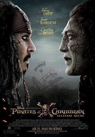 《加勒比海盗5》曝新电视预告 萨拉查船长出风头