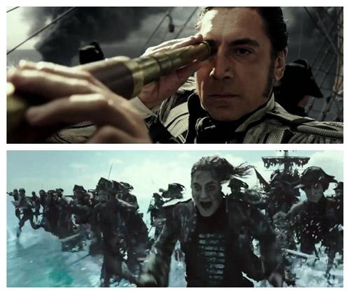 大反派萨拉查船长与亡灵大军