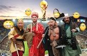 唐僧师徒祝贺国足比赛胜利