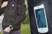 手机没电:放口袋就能充电