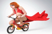 颠覆三观的无人驾驶自行车