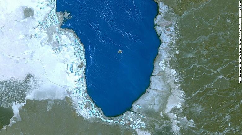 2014,埃塞俄比亚,Afrera湖