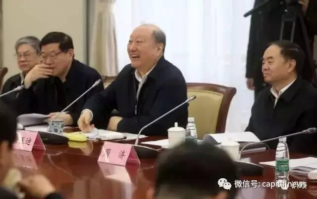 京津冀协同发展专家咨询委员会组长徐匡迪发言