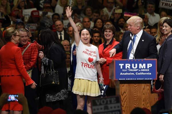 美国大选期间,CAFT成员为特朗普助力