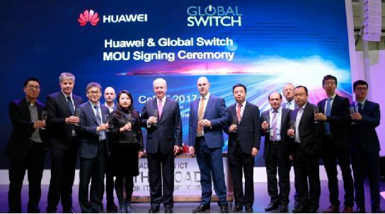 华为与英国Global Switch签署合作伙伴协议