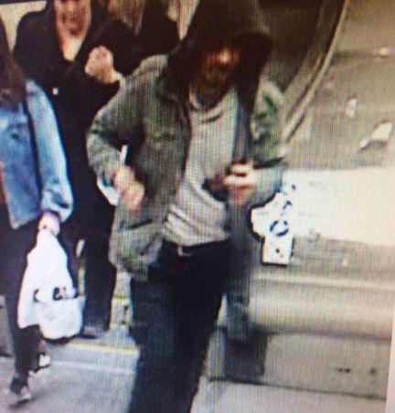 瑞典警方公布的犯罪嫌疑人照片。