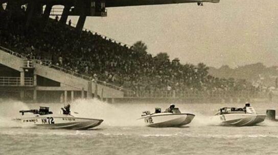 1950年代迈阿密地区火爆的动力艇赛事盛况