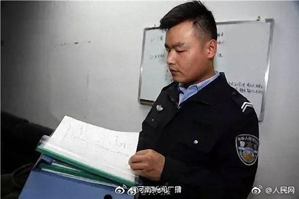 朱绪佳工作照。 本文图片均来自河南新闻广播官方微博